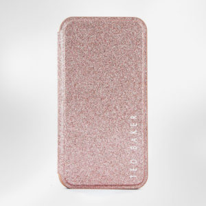 Glitsie Folio θήκη της Ted Baker για iPhone 11 Pro, με πολυτελές design και εσωτερικό καθρέφτη
